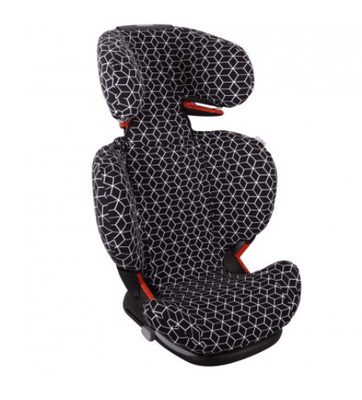 Ukje - Maxi Cosi Rodifix Black And White Geometric