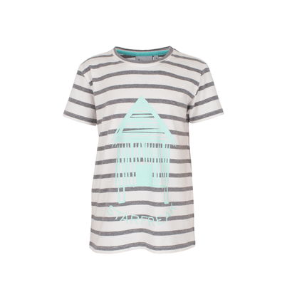 Starfreak - T-Shirt Beachhouse Ecru/Grey