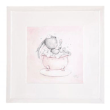 Effiki - Art Frame In Bath Pink