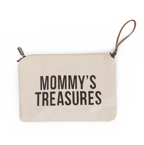 Childhome - Mommy Treasures Clutch Off White/Black