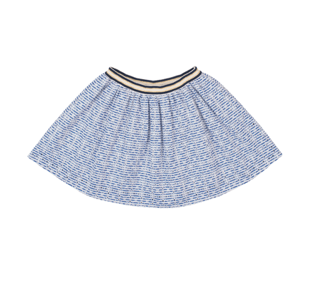 Starfreak - Skirt Blue/White