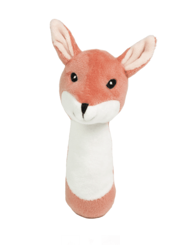 Kids Concept - Edvin Plush Rattle Fox