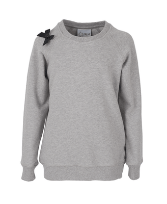 Starfreak - Sweater With Bow Grey/Mele