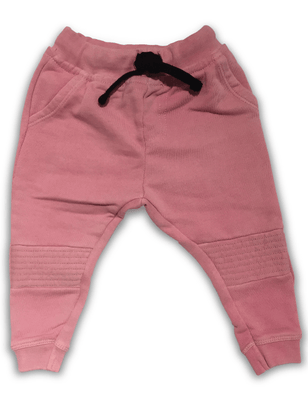 Cos I Said So - Biker Jogging Pant Washed Pink