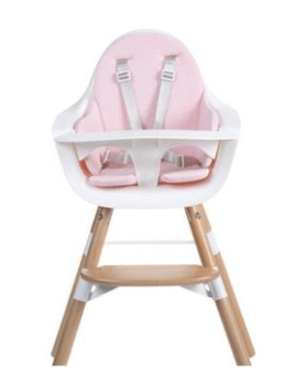 Childhome - EVOLU SEAT CUSHION TRICOT PASTEL OLD PINK