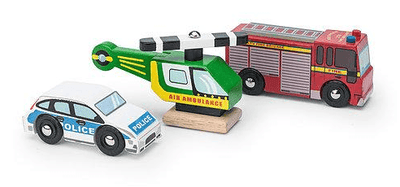 Le Toy Van - Emergency Vehicles Set