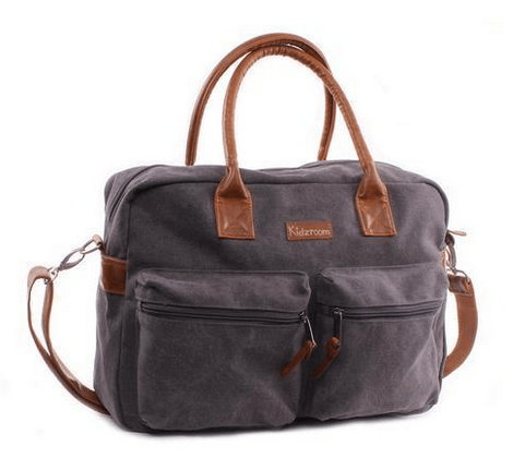 Kidzroom - Vision Of Love Diaper Bag Sporty grey