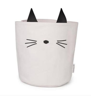 Liewood - Ella Fabric Basket Cat Sweet Rose