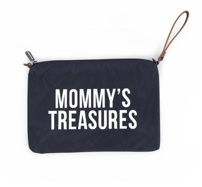 f604b4006b06 Add to bag. Childhome - Mommy Treasures Clutch Navy White