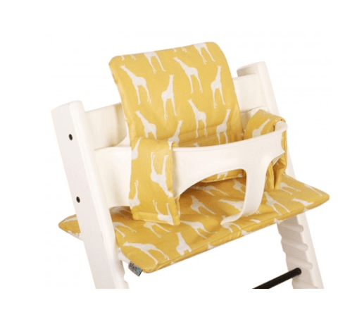 Ukje - Cushion Set Triptrap Yellow Giraffe