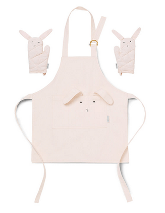Liewood - Vincent Apron Rabbit Sweet Rose