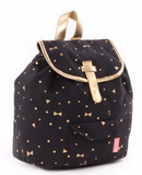 Kidzroom - Gold Rush Black Backpack Trendy
