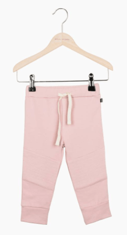 House of Jamie - Knee Patch Jogger Powder Pink