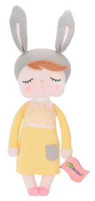 Metoo - Angela Doll Yellow/Grey