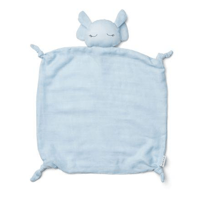 Liewood - Agnete Cuddle Cloth Elephant Baby Blue