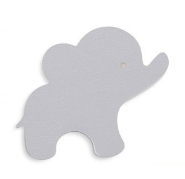 That's Mine - Wall Hook Elephant Grey