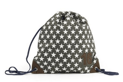 Zebra Trends - swimming bag Star Grey