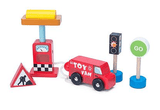 Le Toy Van - Car + Petrol Pump Set