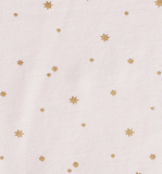 Little Label - Girls Summer Pyamas Pink Copper Stars