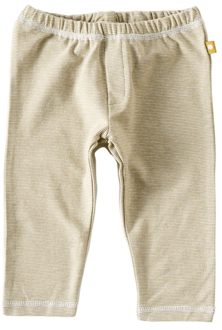 Little Label - Newborn basic pants fine caramel stripes