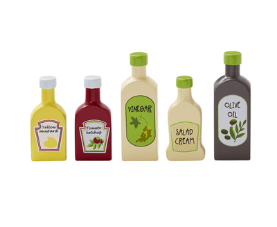 Kids Concept - Pantry Bottles 5pcs