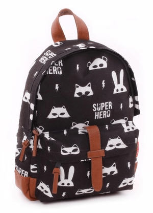 b3a6efbbe1 Looking for a Kidzroom Backpack Black   White Animals  June and Julian