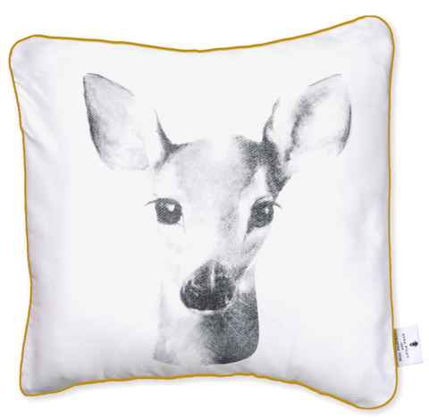 Miss princess and little frog - Pillowcase Tencel Bambi
