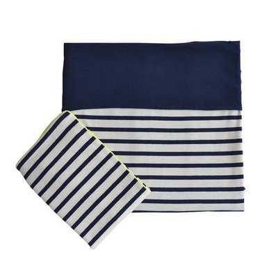 Coco & Pine - Neon Stripes/Duvet Cover