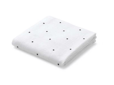 Liewood - Hannah Muslin Cloth Classic Dot Crisp White 2 Pack