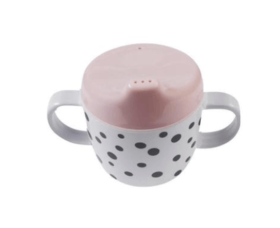 Done By Deer - Happy Dots 2 Handle Spout Cup Powder