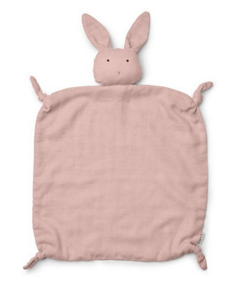 Liewood - Agnete Cuddle Cloth Rabbit Rose
