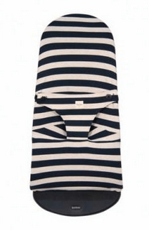 Fundas - Bouncer Cover Babybjörn SOFT Paris Stripes