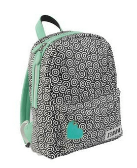 Zebra Trends - Backpack Medium circles mint