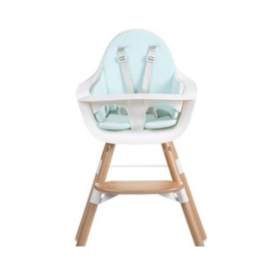 Childhome - EVOLU SEAT CUSHION TRICOT PASTEL MINT BLUE
