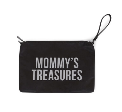 Childhome - Mommy Treasures Clutch Black/Silver