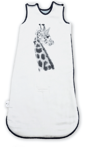 Miss Princess and Little Frog - Baby Sleepingbag Tencel 4 seasons Giraffe