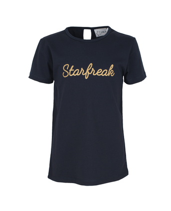 Starfreak - T-shirt Jersey Co/Elastin Solid Blue