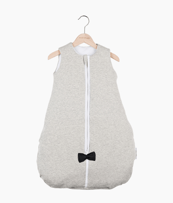 House of Jamie - Sleeping Bag Baby Black & Stone