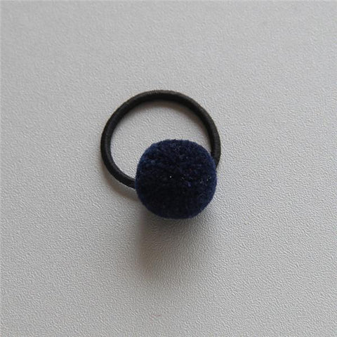 Little Millie - Mini Pompom Set Of Two Dark Blue