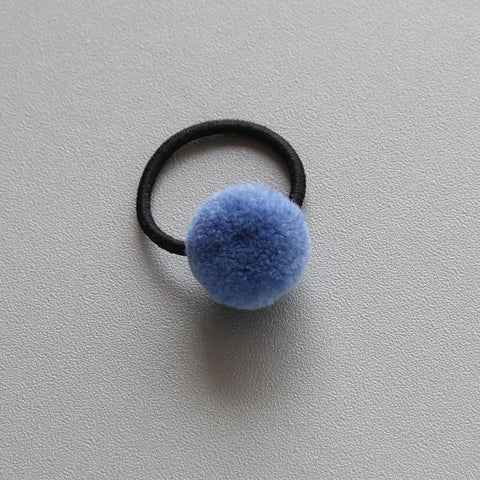 Little Millie - Mini Pompom Set Of Two Blue