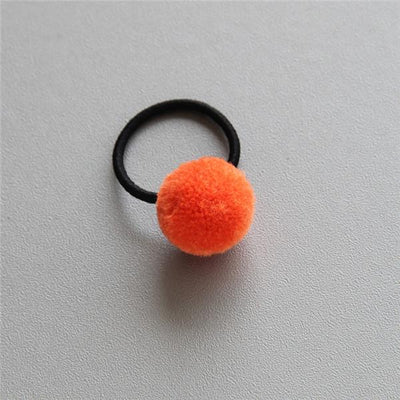 Little Millie - Mini Pompom Set Of Two Orange