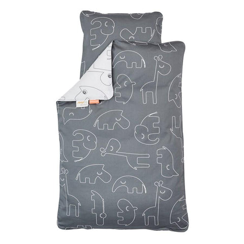 Done By Deer - Sleepy Bedlinen Grey