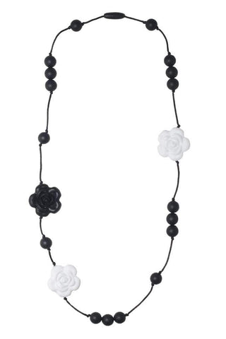 Nibbling - Necklace Coco Black And White
