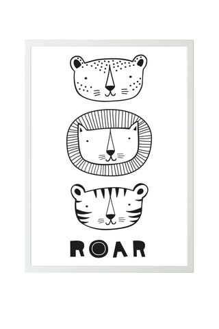 A Little Lovely Company Poster Roar (50x70)