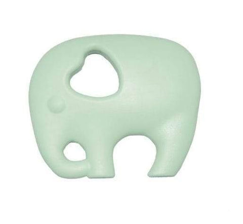 Nibbling - Teeting Toy Elephant Mint