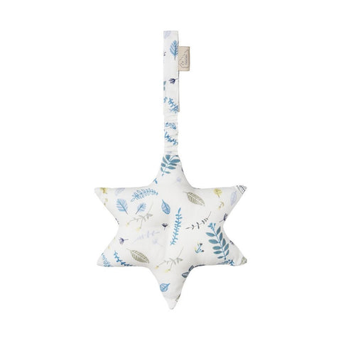 Cam Cam - Star Play Gym Toy Pressed Leaves Blue