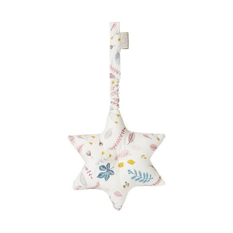 Cam Cam - Star Play Gym Toy Pressed Leave Rose