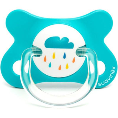 Suavinex - Pacifier Fusion Physiological 0-4 Months Rain Cloud