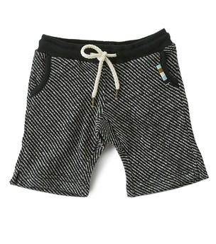 Little Label - Boys Sweat Shorts Zebra Stripes