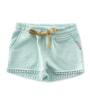 Little Label - Fancy Sweat Shorts Tropical Blue